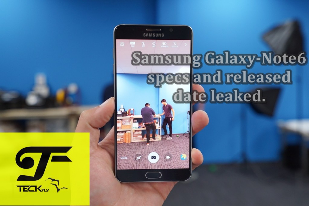 Galaxy-Note6 Samsung Galaxy-Note6 specs and released date leaked.