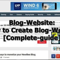 Blog-Website : How to Create a Blog in Blogger .