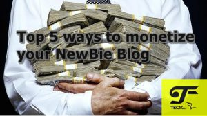 Monetize : Top 5 ways to monetize your NewBee Blog