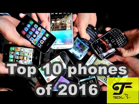 Top 10 phones of 2016