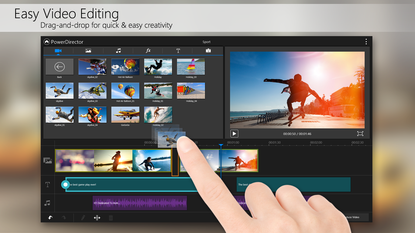 Power editor video editing app