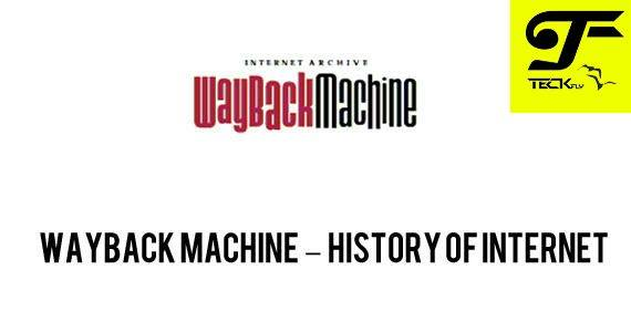 Wayback machine
