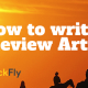 How to write a Review Article